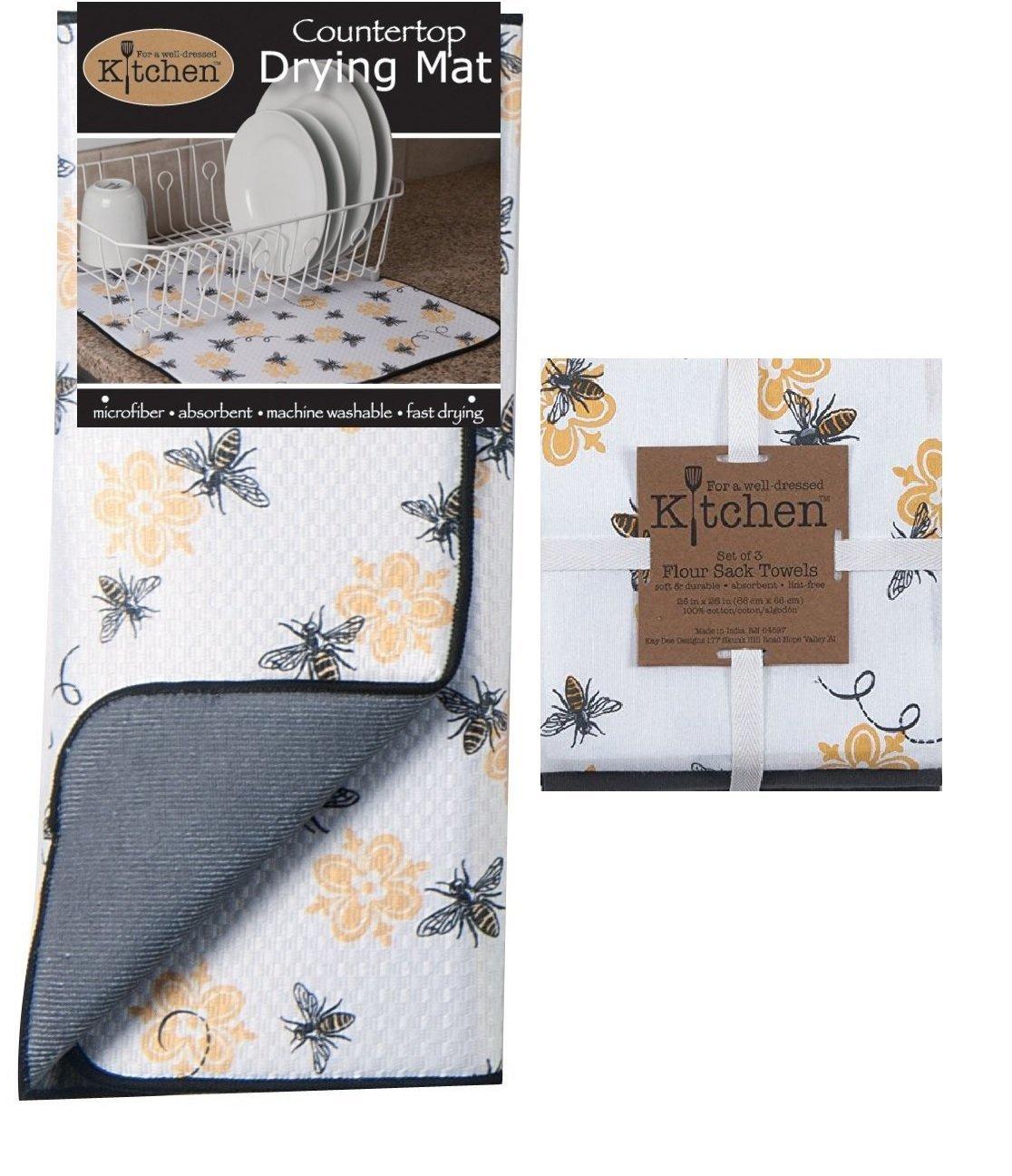 foto Kay Dee Designs Drying Mat (Set of 3)