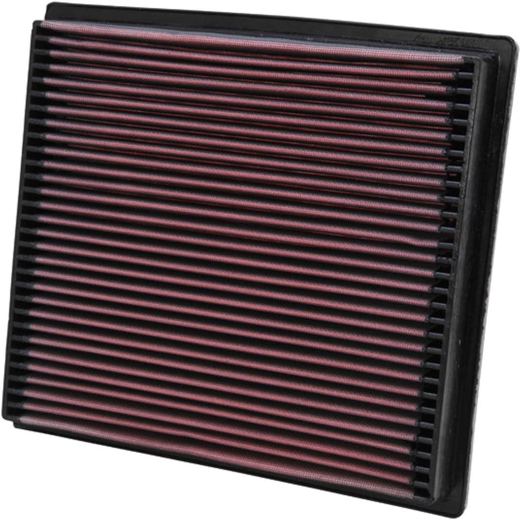 B0000UUX9S K&N Engine Air Filter: High Performance, Premium, Washable, Replacement Filter: 1994-2002 DODGE (Ram 2500, Ram 3500) , 33-2056 714nkFEZlfL.SL1100_