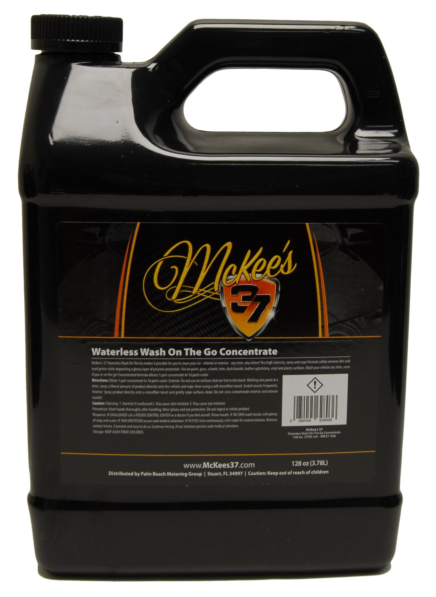 McKee's 37 MK37-356 Waterless Wash On The Go Concentrate 128 oz, 128. Fluid_Ounces