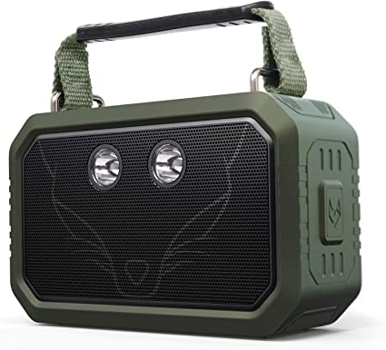 Doss Traveler Wireless Portable Bluetooth Speakers Waterproof Ipx6 20w Stereo Sound And Bold Bass 12h Playtime 5 Light Modes For Outdoor Green Amazon Ca Cell Phones Accessories