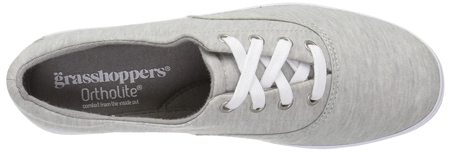 Grasshoppers Women's Janey Ii Fashion Sneaker B01LXS86UY 7 N US|Light Grey