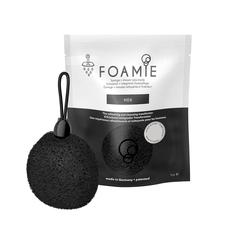 Foamie, Men 4-in-1 Duschschwamm mit integrierter Duschpflege für Männer FM-PC-MV1001