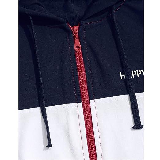 Amazon.com: Hoodies Men Sudaderas Hombre Hip Hop Mens Brand Patchwork Hooded Zipper Hoodie Cardigan Sweat: Clothing