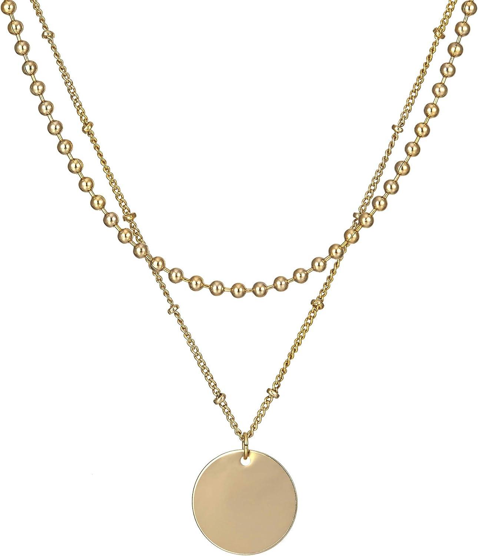 WOO New Bohemian Vintage Women Pendant Rhinestone Necklace Chain Jewelry Gift