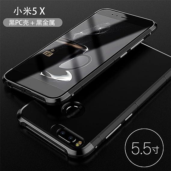 best sneakers 76180 2853b Xiaomi Mi A1/5X Case,DAYJOY Unique Design Guardian Series Aluminum Metal  Shockproof Bumper Frame Case With Hard Plastic Back Cover for Xiaomi Mi ...