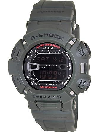 Casio G-Shock Digital MUDMAN Mud Resist Mens Green Watch G-9000-3V G ... d94c930f2