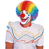 Rainbow Clown Funny Colorful Afro Halloween Costume Wig