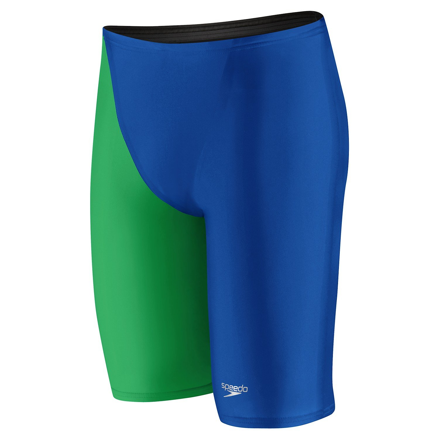 Speedo 7050711 Mens Lzr Elite 2 High Waist Jammers, Blue/Green - 27