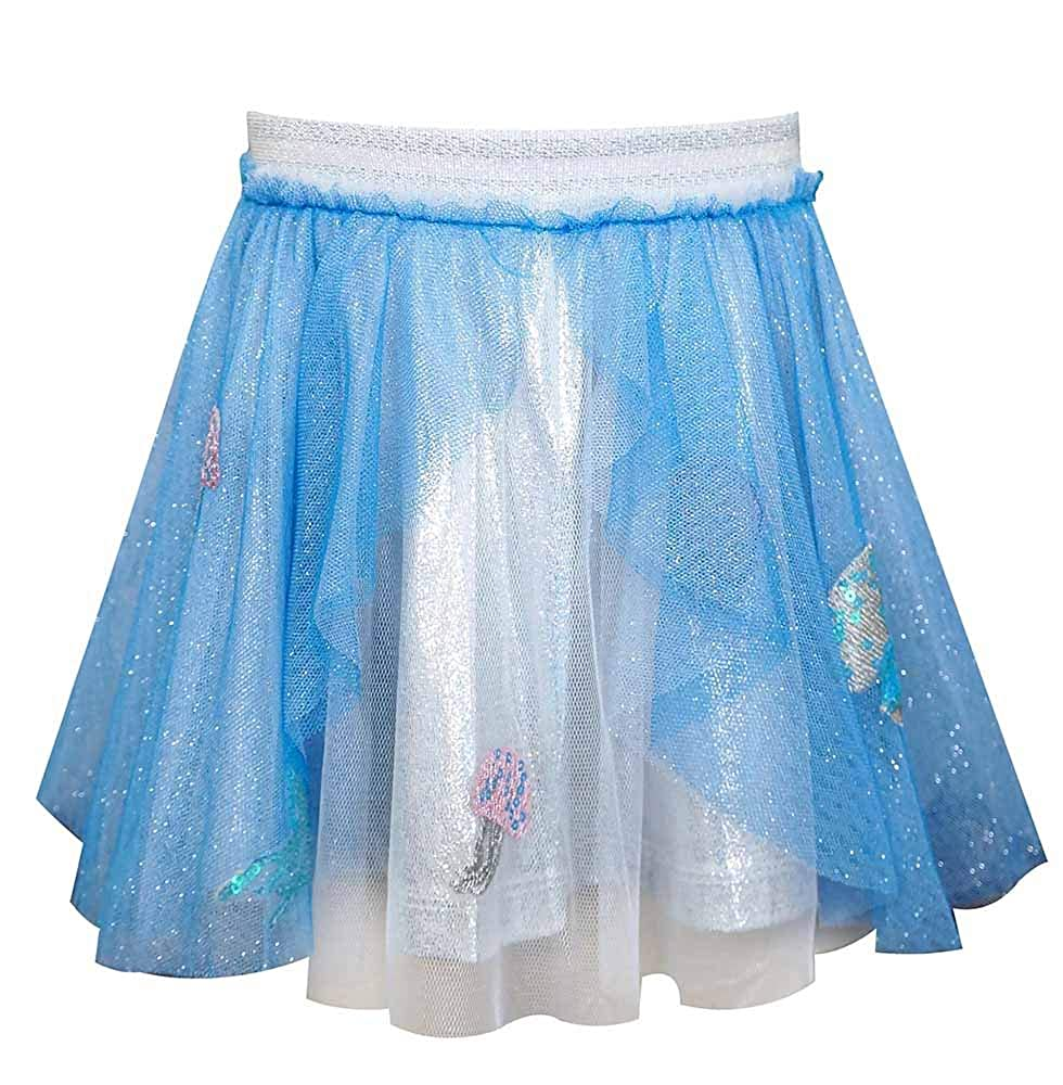 Baby Sara Cascade Mesh Tutu Skirt with Jellyfish
