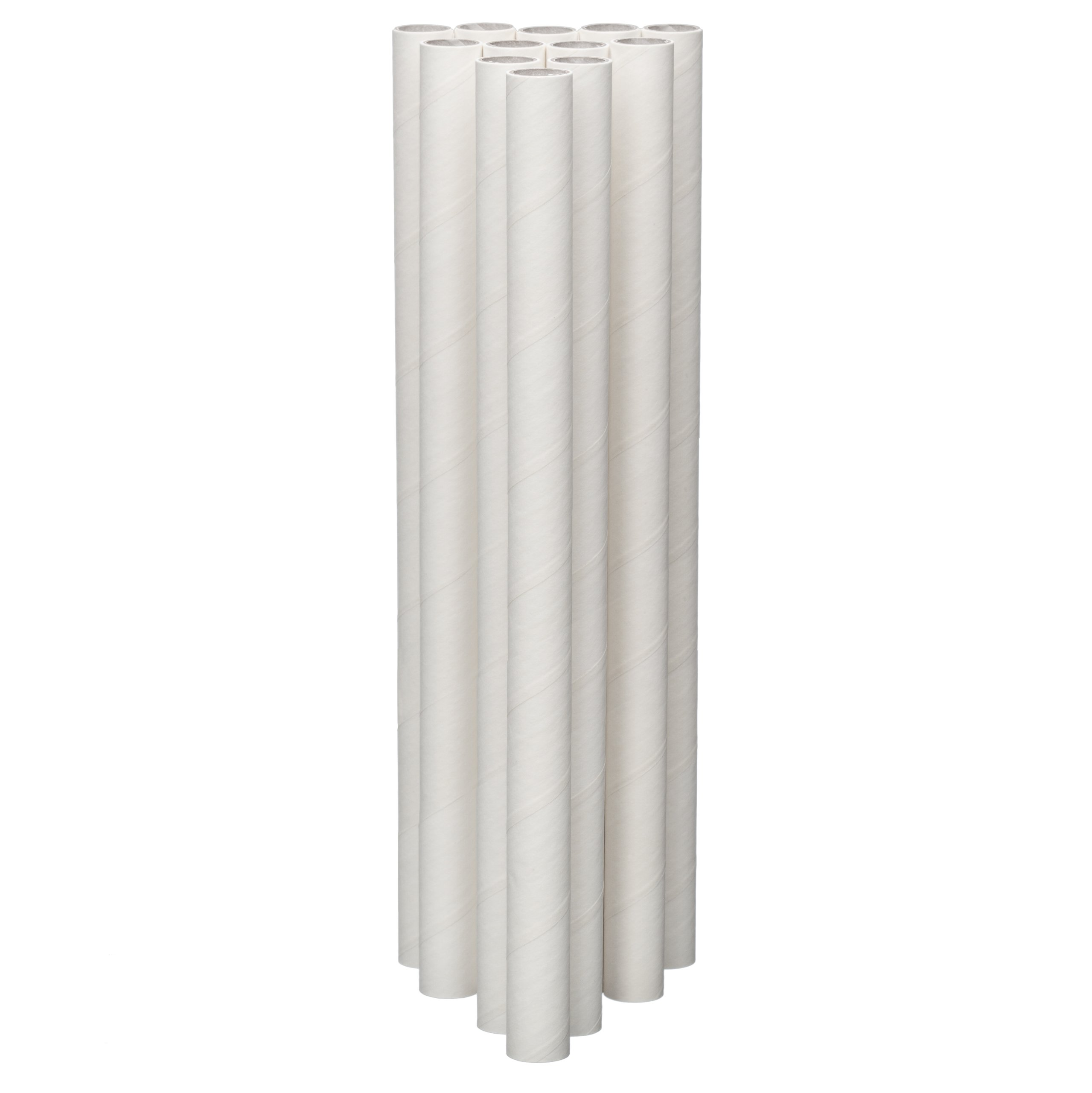 Lady Mary/Ateco 12-Inch Parchment Coated Paperboard Dowels, 12-Pack by Ateco