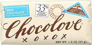 product image for Chocolove Xoxox Premium Chocolate Bar - Milk Chocolate - Pure - Mini - 1.3 oz Bars - Case of 12