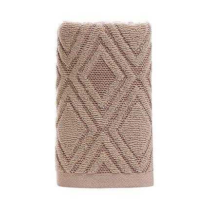 Toallas de algodón bordado de absorción de agua fuerte comprimido toallas de suave