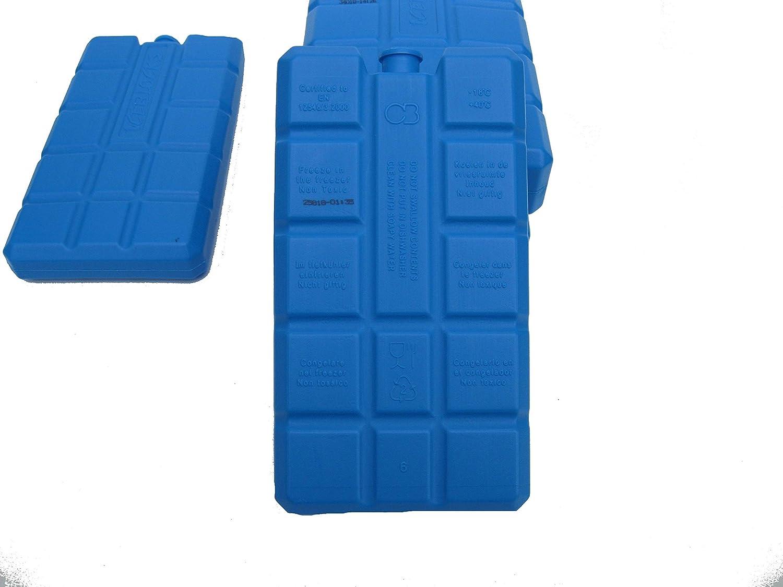 Curalit K/ühlakku K/ühlakkus f/ür K/ühltasche 2er Set mit 2 x 200 ml oder 2 x 400 ml f/ür hei/ße Tage K/ühlbox K/ühlelemente hergestellt in der EU