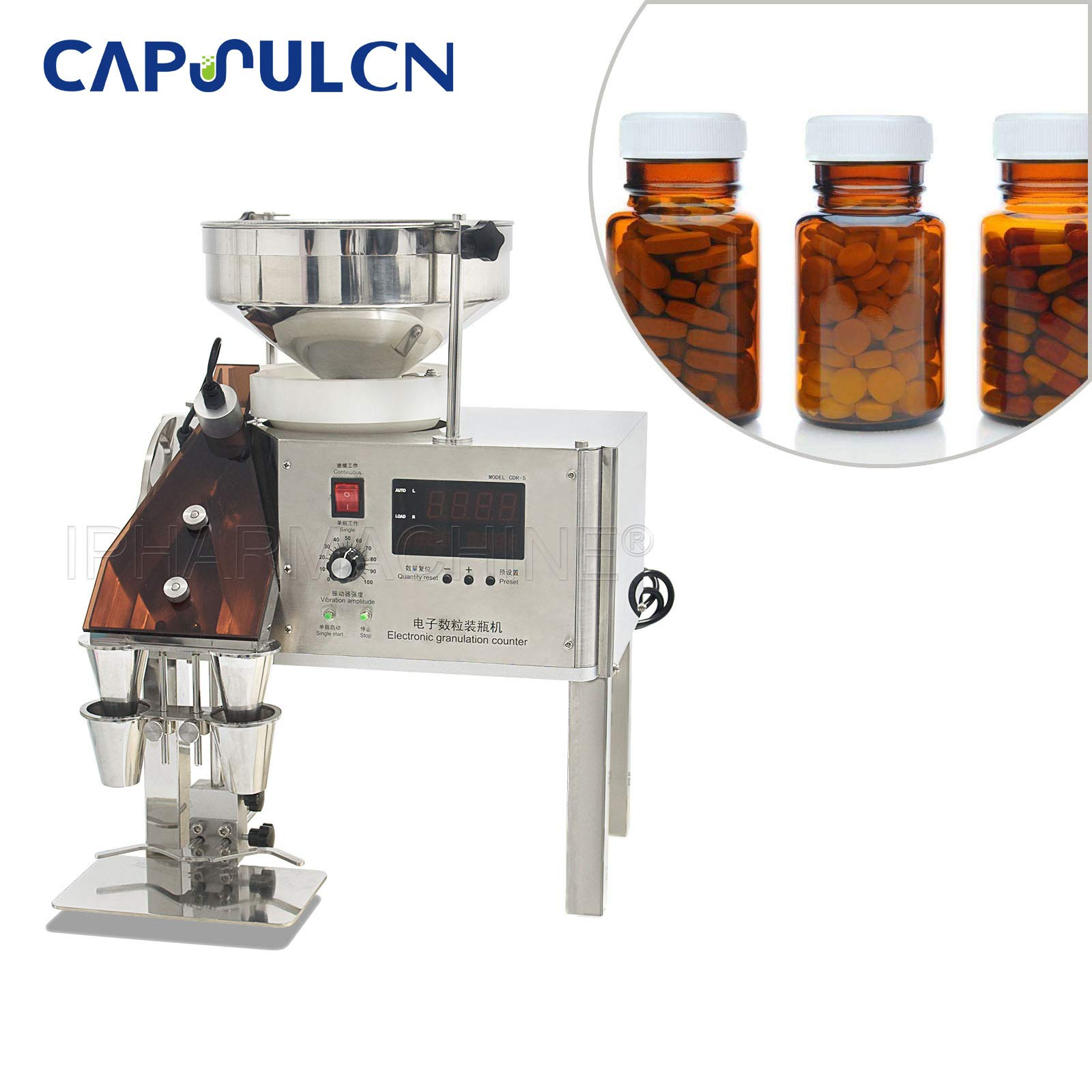 220V/50HZ CDR-5A Auto Capsules Counting Machine for Capsules/Tablets