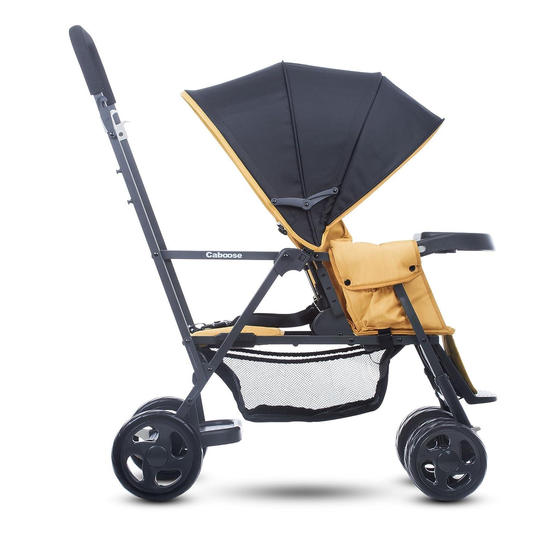 Amazon Joovy Caboose Graphite Stand Tandem Stroller Amber Baby