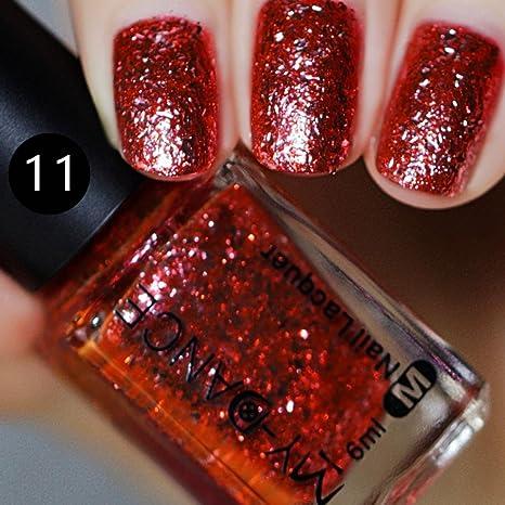 Amazon.com: Clearance Sale Nail Polish Gel Glitter for Womens Girls Teens, Iuhan® Platinum Nail Polish Shines Gel Polish Nail Kits (K): Health & Personal ...