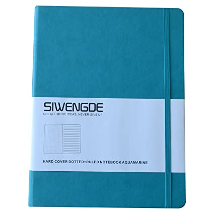 Amazon.com : Siwengde Dotted-grid Bujo Bullet Journal Wide Ruled ...