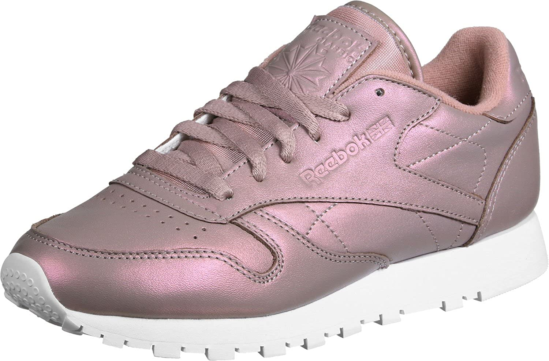 Sneakers | CL LTHR SATIN Violett Reebok Classics Damen