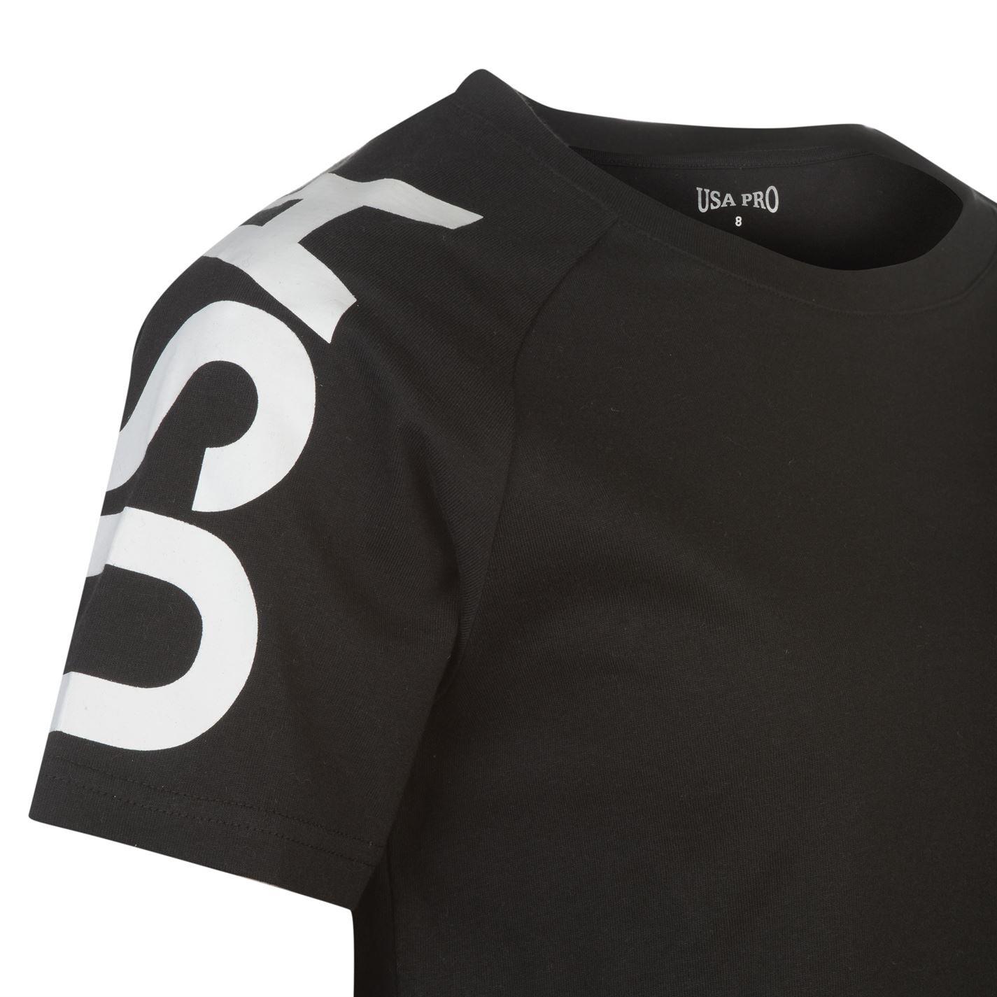 USA Pro Damen Cropped T-Shirt Bauchfrei