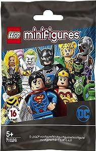 LEGO Minifigures - DC Super Heroes Series - New Sealed Blind Bags - Random Set of 6 (71026)