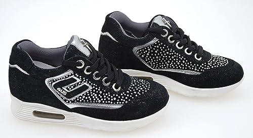 4US CESARE PACIOTTI KIDS Bambina Junior Scarpa Sneaker Casual CAMOSCIO  PGPT1A1AT  Amazon.it  Scarpe e borse c9284374fbe