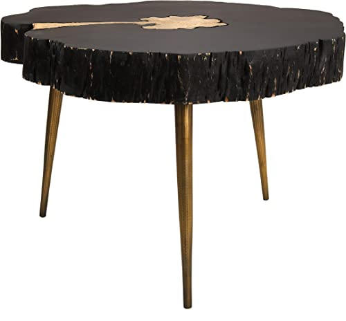 TOV Furniture Timber Rustic Wood Cocktail Table - the best living room table for the money