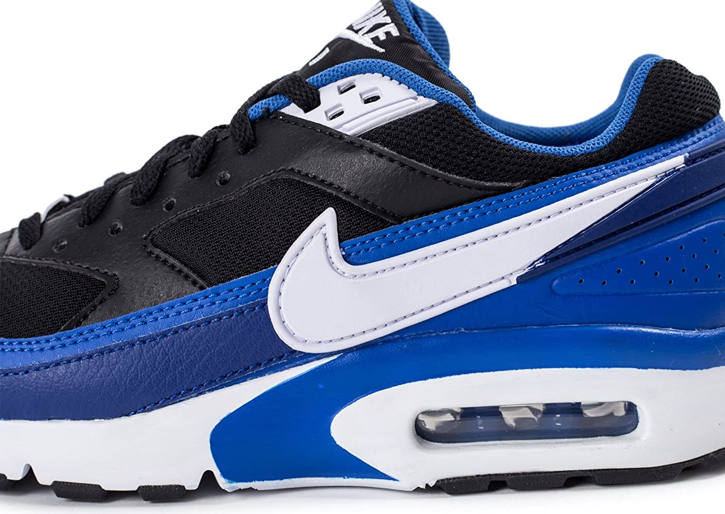 d353ab58e5 Nike Air Max Bw (Gs), Boy's Running Shoes, Black (black/white-game - deep  royal blue), 4 UK (36.5 EU): Amazon.co.uk: Shoes & Bags