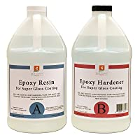 EPOXY Resin 1 Gal Kit, General Purpose (Coating, Table Tops, Casting)