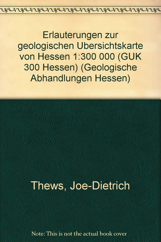 Erläuterungen zur Geologischen Übersichtskarte von Hessen 1:300000 (GÜK 300 Hessen)/Erläuterungen zur Geologischen Übersichtskarte von Hessen Karbon (Geologische Abhandlungen Hessen)