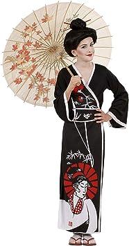WIDMANN Widman - Disfraz de geisha oriental para niña, talla 8-10 ...