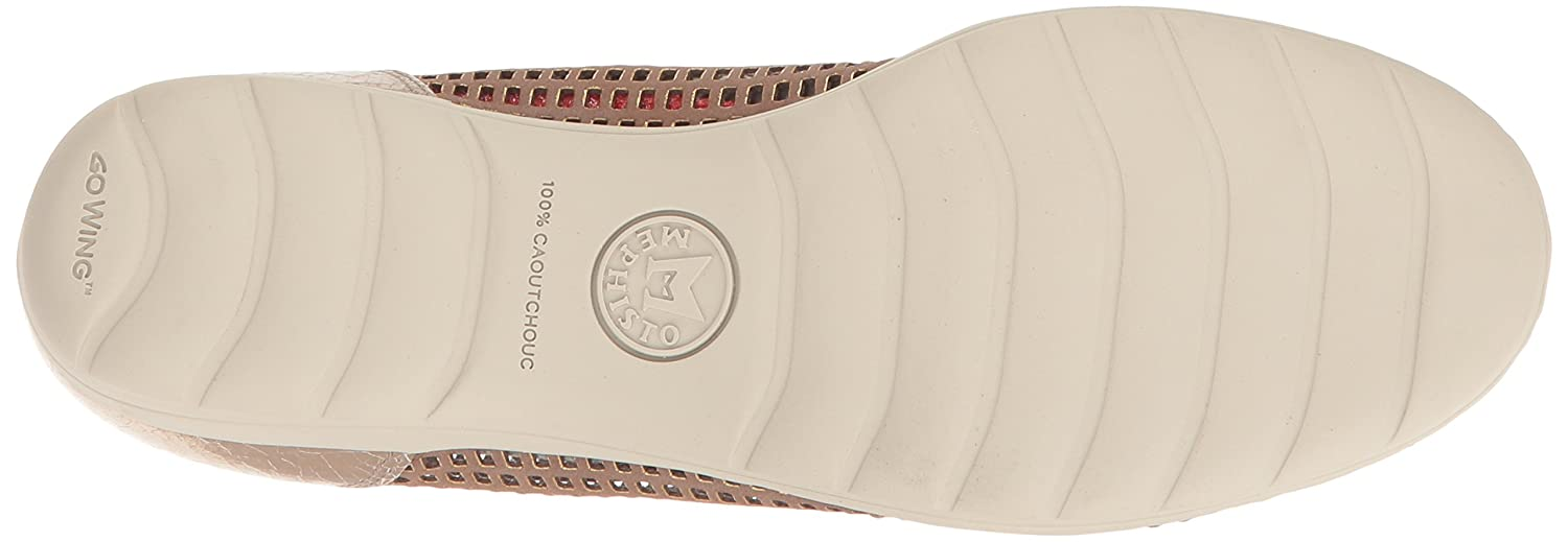 Mephisto Women's Evelyne Flat B01LAFM83A 9 B(M) US|Taupe Window/Platinum Ice