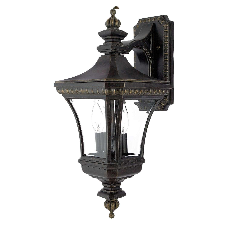 Bidwell Lighting Butte Creek 21'' Tall Outdoor Wall Lantern - Imperial Bronze by Bidwell Lighting
