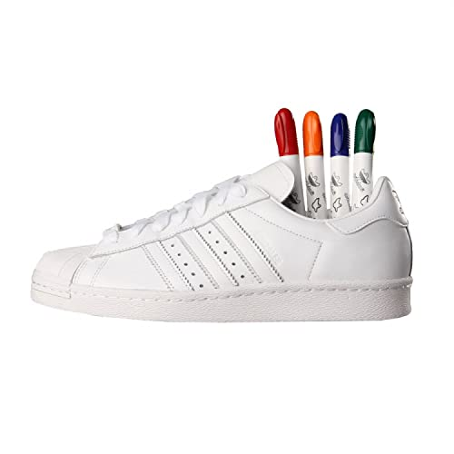 finest selection 77a55 bc64b adidas Originals Superstar 80s s85469 by Gonzales White  Amazon.es  Zapatos  y complementos