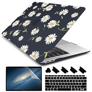 Amazon.com: Dongke - Carcasa rígida para Apple MacBook Air ...