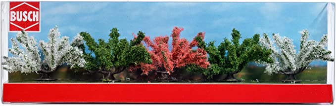 Busch 6060 Spring Bushes 5//A Scale Scenery Kit MODELS11 INC