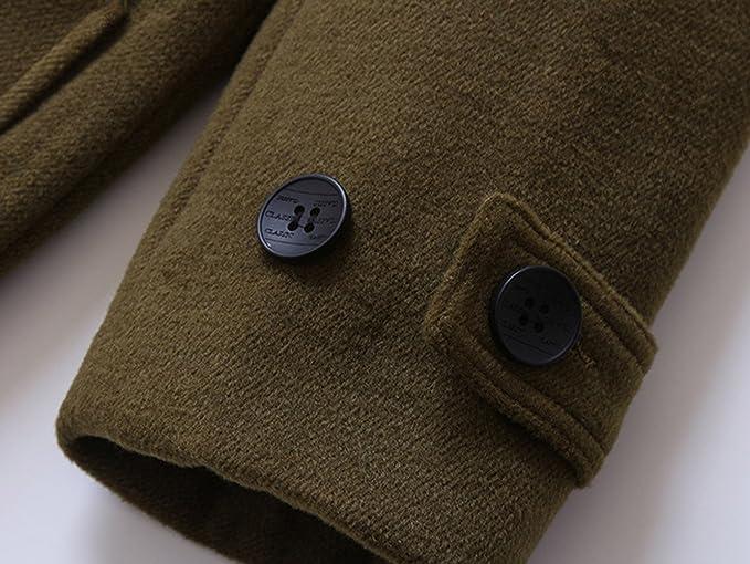 Amazon.com: TXYSEFS Boys Hooded Coat Warm Jacket Wooden Button Overcoat: Clothing