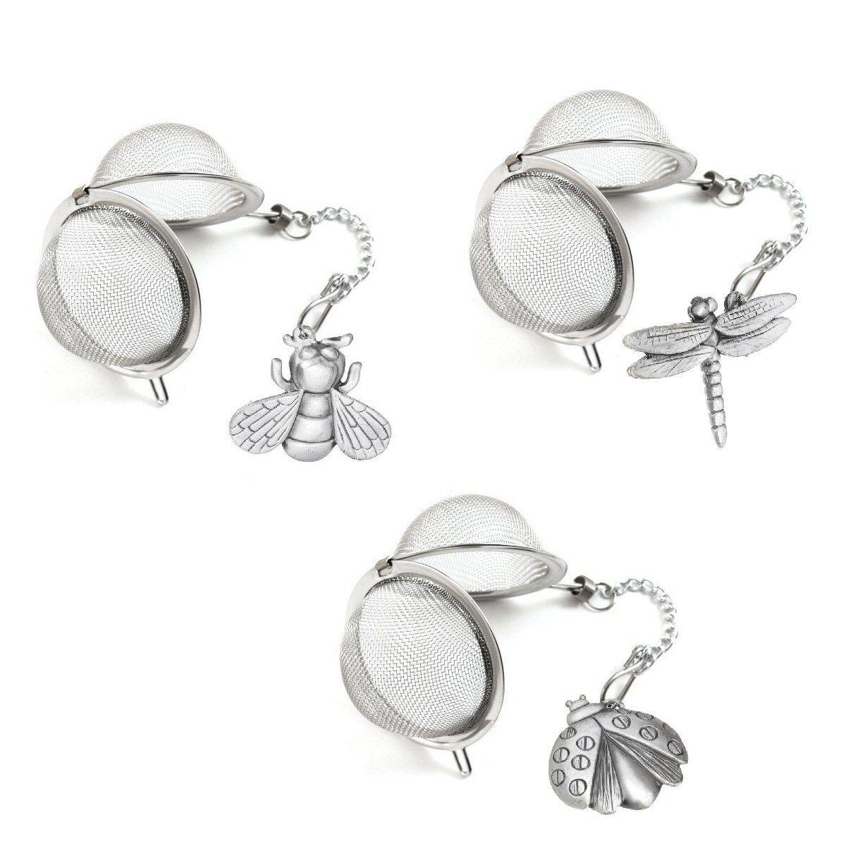 Prodyne Garden Dwellers Stainless Steel Tea Infuser (LadyBug)