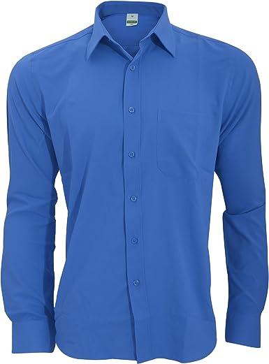 Henbury - Camisa Transpirable para Trabajar de Manga Larga accion Anti-Bacterial Hombre/Caballero - Trabajo/Fiesta/Verano: Amazon.es: Ropa y accesorios