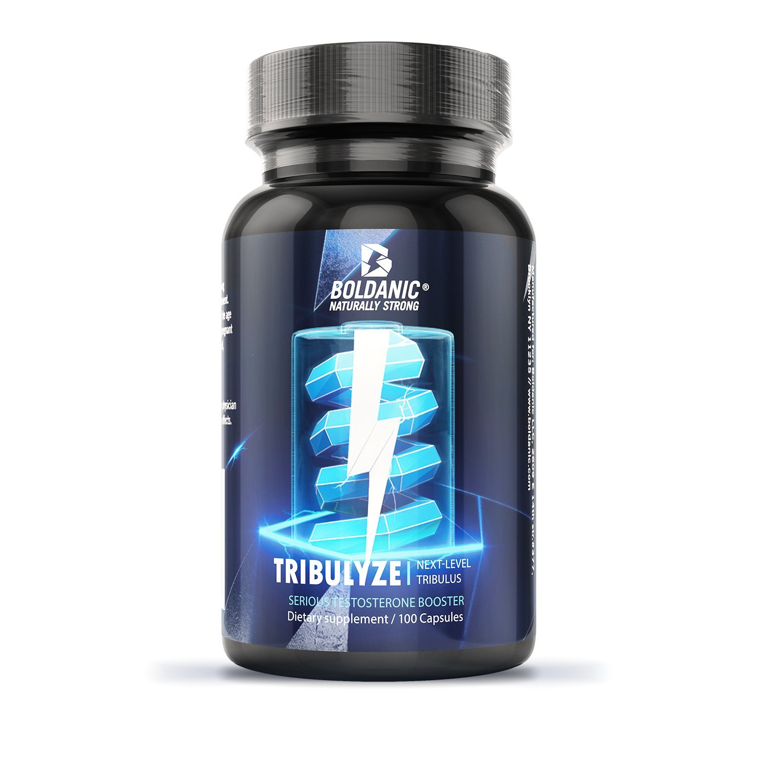 Tribulyze : Next-Level Tribulus Terrestris Extract. May contain upwards of 10x more protodioscin than other brands