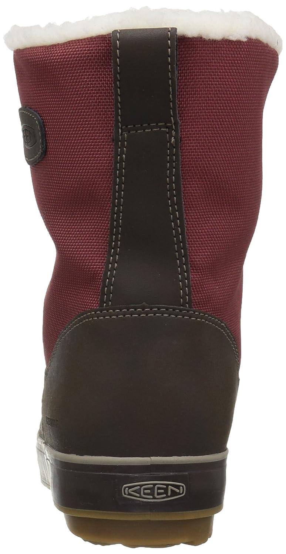 KEEN Women's Elsa Waterproof Winter Boot B01MTOSGBN 8.5 B(M) US|Syrah/Coffee Bean
