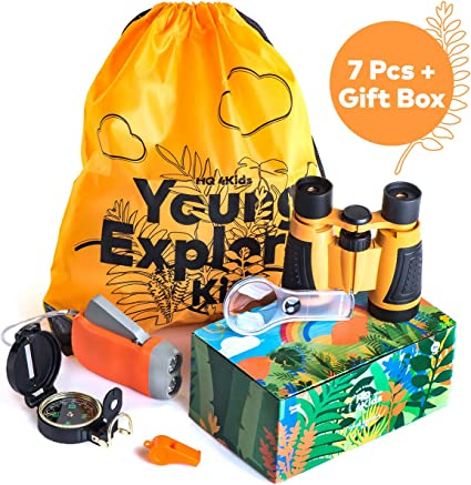 Amazon.com: HQ4Kids - Kit de aventura al aire libre para ...