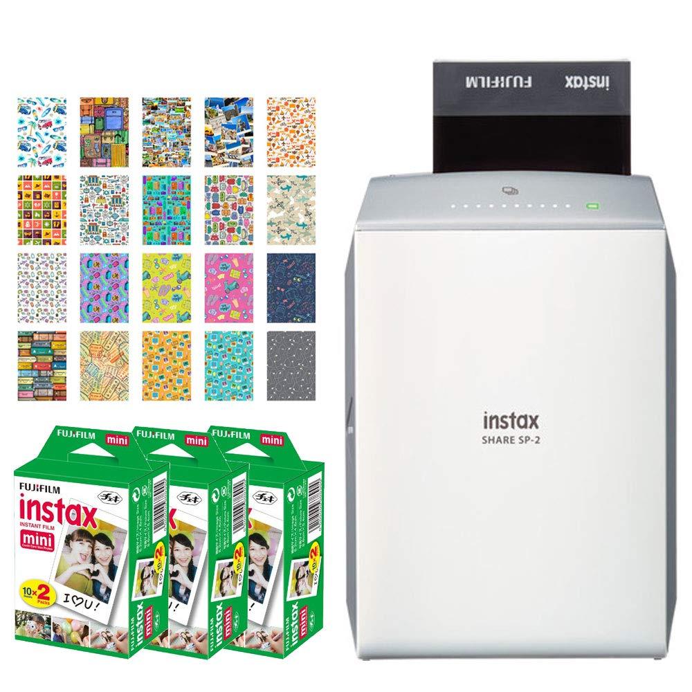 Fujifilm Instax Share SP-2 Impresora para Smartphone (plata ...
