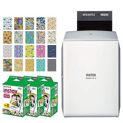 Fujifilm Instax Share SP-2 Impresora para Smartphone (plata) + ...