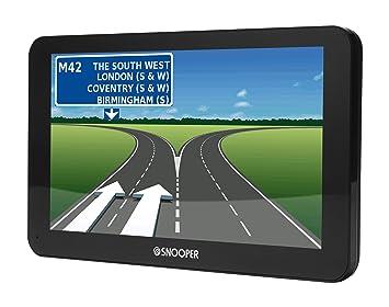 Snooper 5019896680024 S6800 Truckmate Navegador GPS, 7 Pulgadas