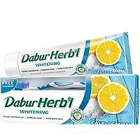 DABUR Herbal Whitening Toothpaste, 150 gm + Toothbrush Free