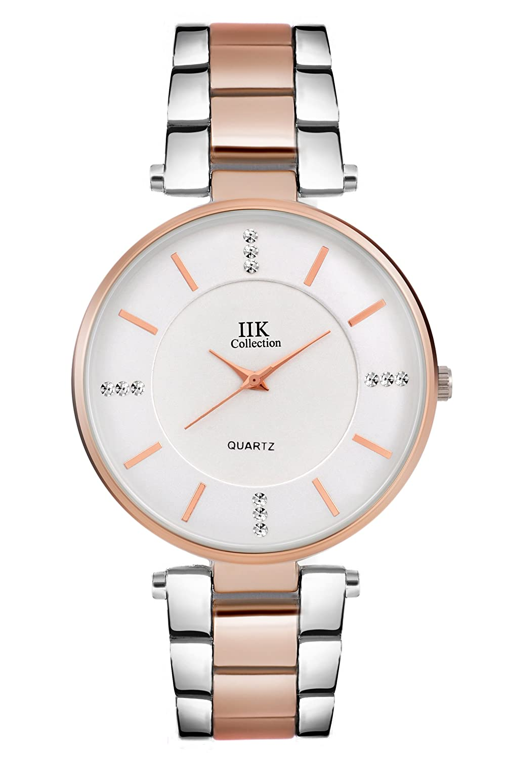 IIK Collection Watches Analogue Silver Big Size Dial Girl's