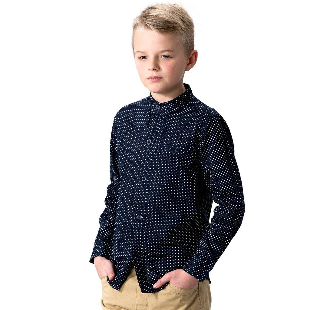 Leo&Lily Big Boys' LLB263-6-Navy, Navy, 6 by Leo&Lily (Image #1)