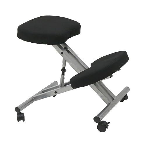 posture ergonomic posture kneeling chair with steel frame amazon
