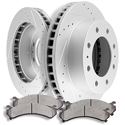 Front Rotors /& Metallic Pads For CHEVY SILVERADO SIERRA EXPRESS AVALANCHE SAVANA