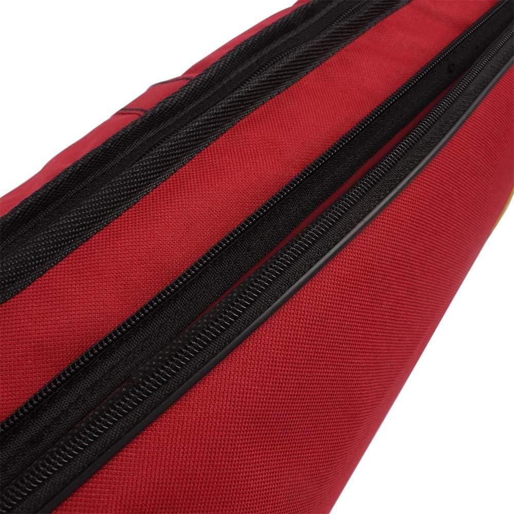 Vilihy 600D Water-resistant Trombone Gig Bag Oxford Cloth Backpack Adjustable Shoulder Straps Pocket 5mm Cotton Padded for Alto//Tenor Trombone (Blue)